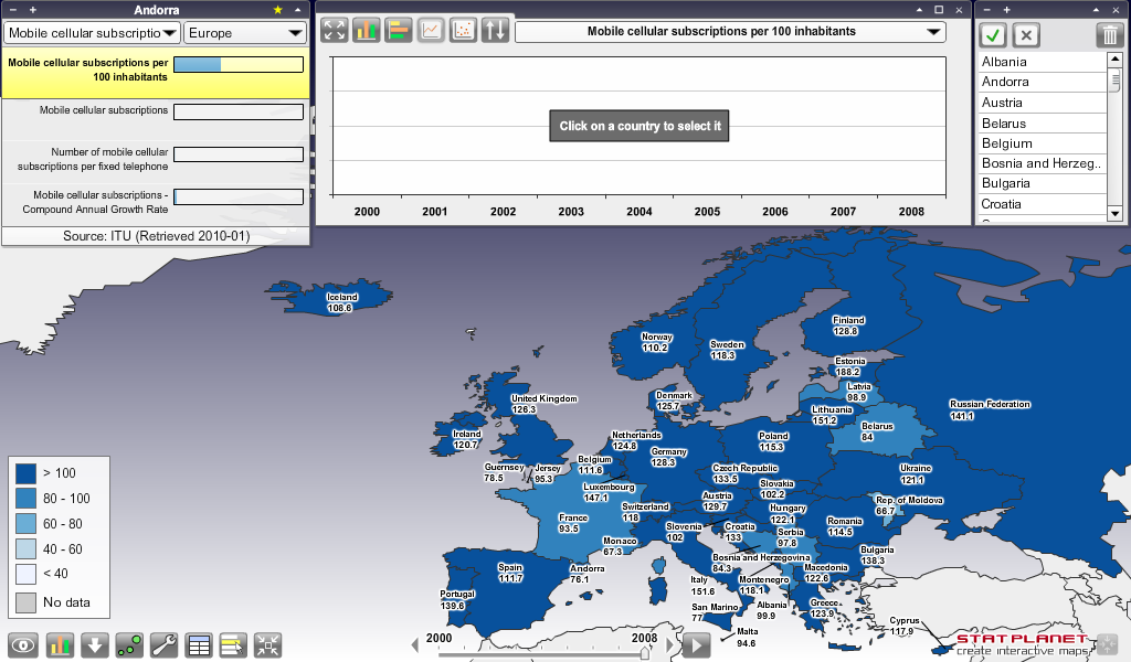 Create Your Own Map Online At Statplanet And Impress Your