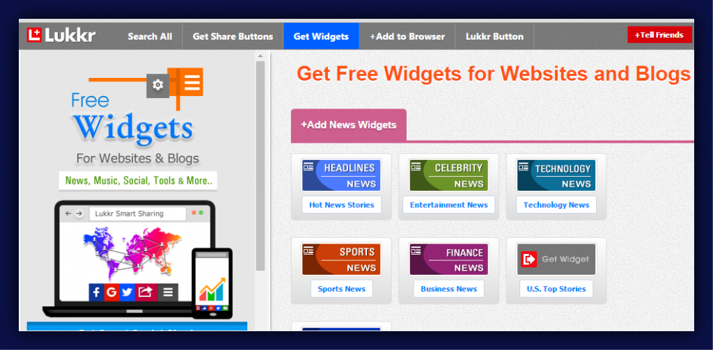 Widgets For Websites