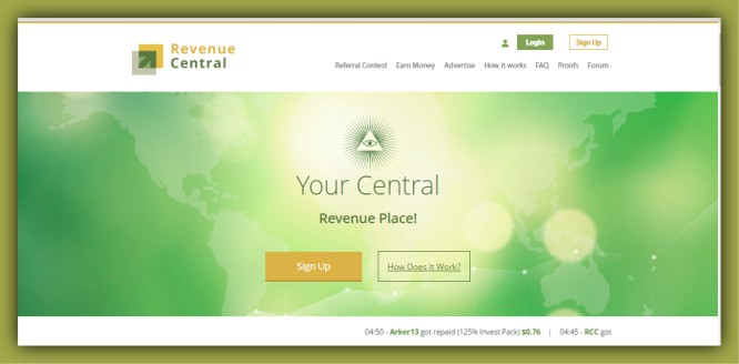 Is the Revenue Central a Newcomer that is trying to Impress?