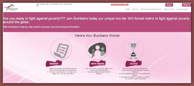 Bumbano Vukuzenzele – Unique MLM Matrix Cycler Leads to Financial Freedom…Almost
