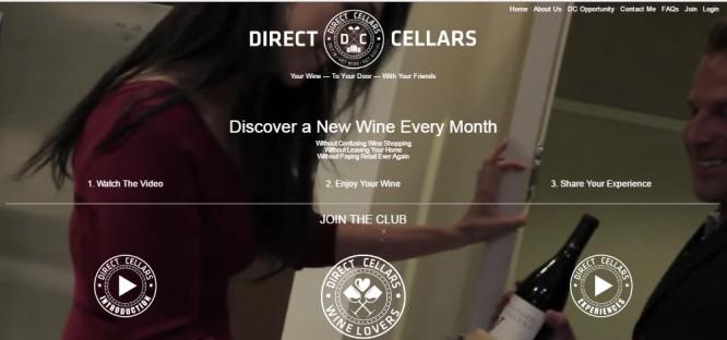 Direct Cellars Wine Tasting Club Memberships Focus On
