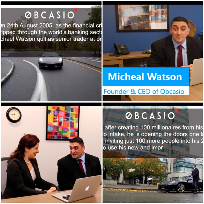 Obcasio – 2005 Financial Crisis made Michael Watson Stronger – Robin Hood looking for Victims