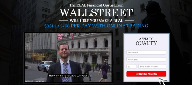 Wall Street Focus Group – Scammy Luxurious Presentation for Wannabe Millionaires