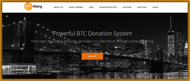 BTCRising – Pseudo CrowdFunding Community Claims a Service to Mankind.!!