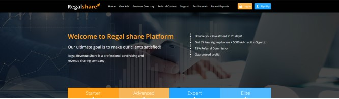 What is Regal Share All About?..Smoke & Mirrors Strictly for Affiliates