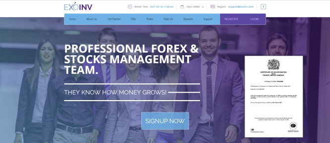 ExoInv – More Investing Ghost Companies on a Saturated Collapsing Market