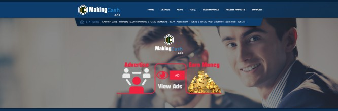 Making Cash Ads – The Well Known Formula for Ponzi Investors