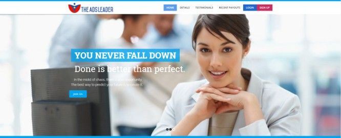 The Ads Leader – Not Exactly Quality Ad Services | Pay-to-Play Chain Recruitment