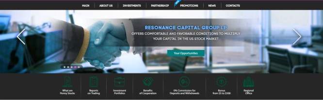 Resonance Capital – Invest With the Sophisticated Experts and Risk it All