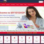 My101Shop – Advertising Curtain for AdPacks Mass Consumption