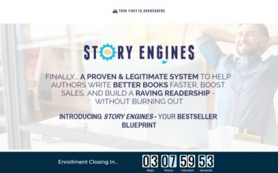 """Story Engines"" Nick Stephenson – Masterpiece For Aspiring Authors"