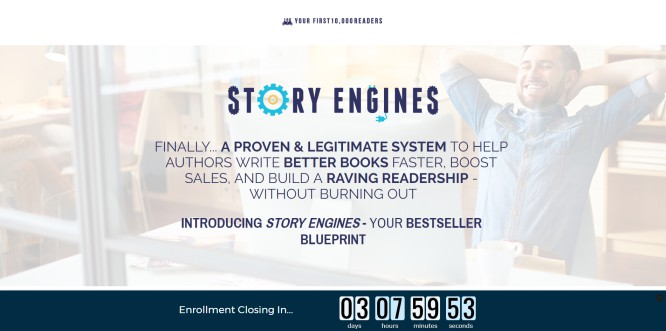 """""""Story Engines"""" by Nick Stephenson – Another Masterpiece for Aspiring Authors"""