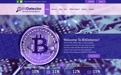BitDetector.biz – Beneficial Crypto Co-Op Only for 1 Side of the Coin