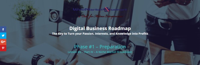 Exciting News…Digital Business Roadmap –  The Gates Are Open