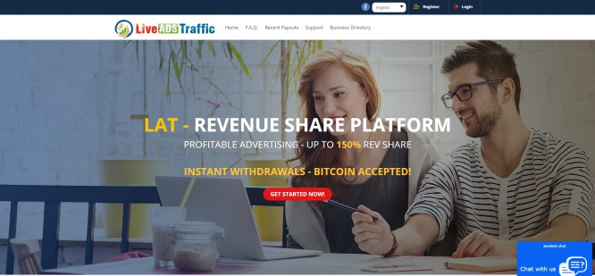 LiveAdsTraffic – Profitable Advertising for a Selected Group of People