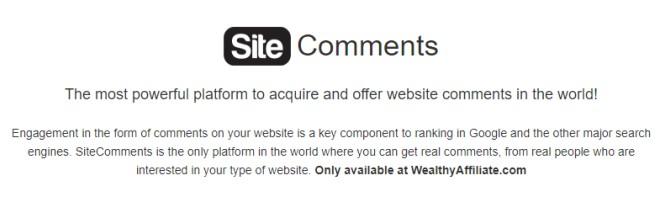 siterubix sitecomments