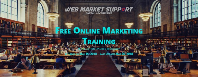 A-Z List of the Best Free Online Marketing Trainings