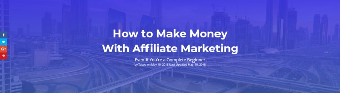 how to make money with affiliate markeitng