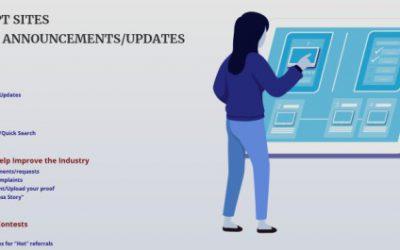 PTC/GPT Sites – Recent Announcements/Updates