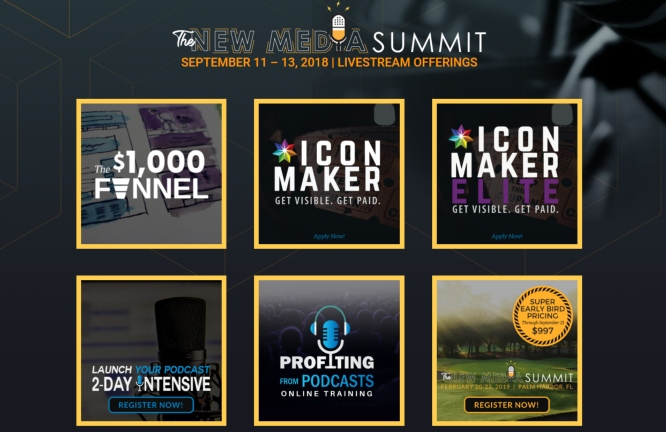 new media summit programs