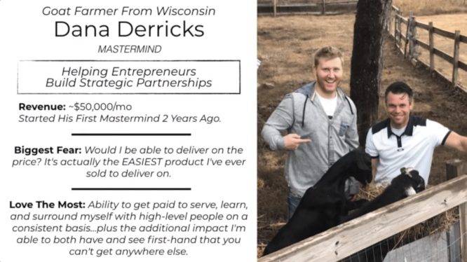 knowledge business blueprint testimonials - dana derricks