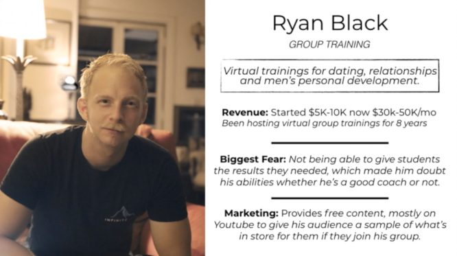knowledge business blueprint testimonials - ryan black