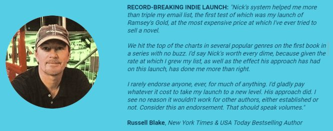 your first 10,000 readers russell blake