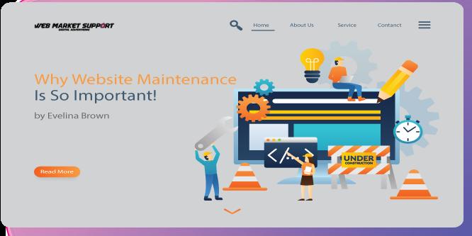 website maintenance freepik edited