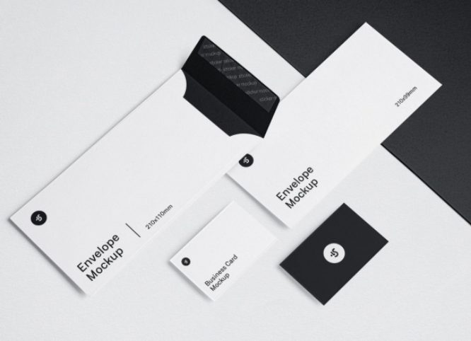 ls.graphics free business card mockup