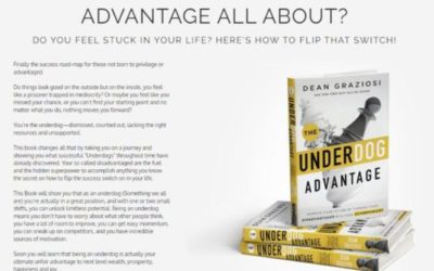 Dean Graziosi – The Underdog Advantage Book | Review + Bonuses