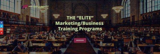 best marketing training programs