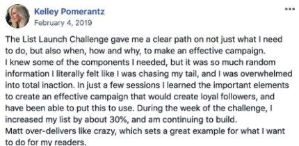 kelley pomerantz testimonial