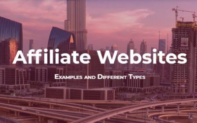 Affiliate Websites – Examples and Different Types – Infographic