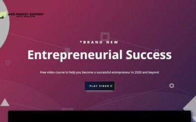 Free Video Course – Entrepreneurial success