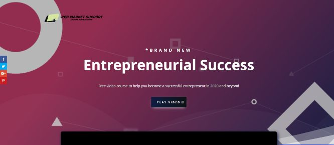 Free Video Course – Entrepreneurial success