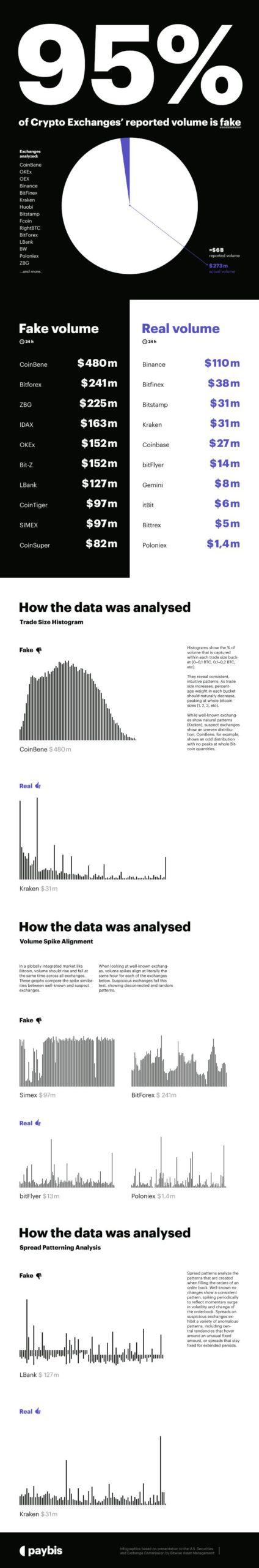 Fake Volume Infographic. Paybis v2
