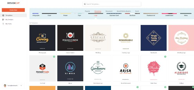 designcap review logos 01