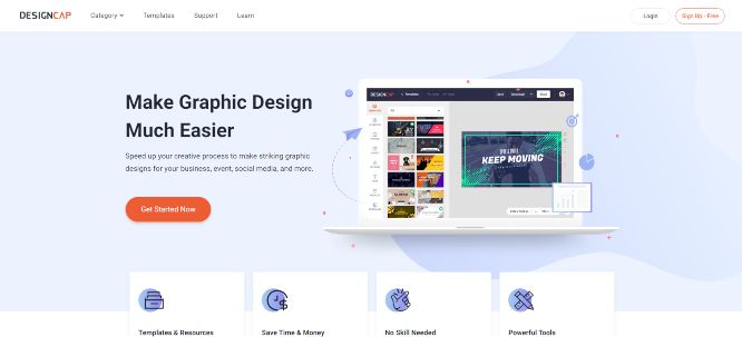designcap review main header image