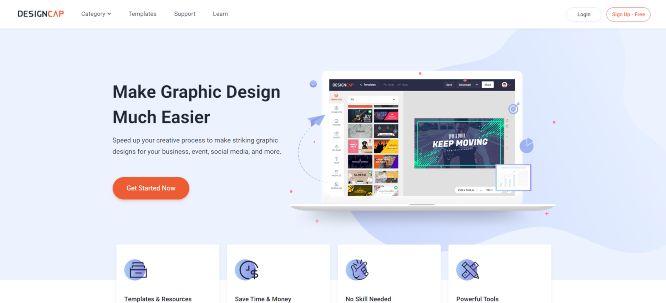 designcap review main header image