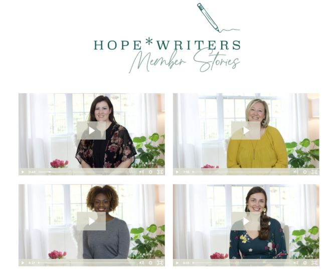 hope writers review member stories