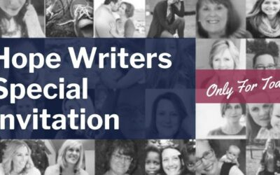 Hope Writers – Special Invitation Only For Today