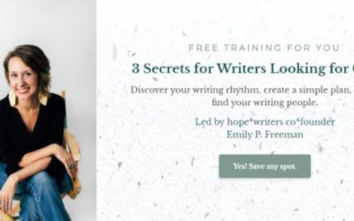 3 Secrets For Writers Looking For Clarity