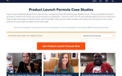 Product Launch Formula Case Studies