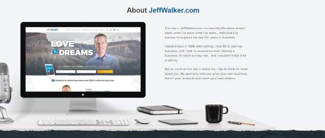 jeff walker product launch formula review - about jeff