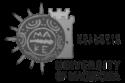 university logo black white 125px