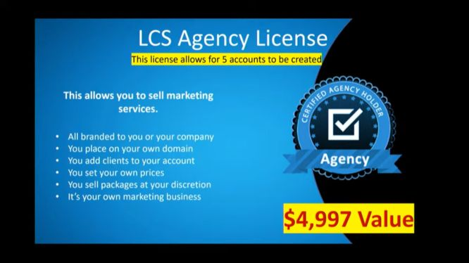 3-day business masterclass - lcs agency license