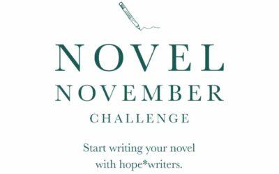Hope Writers: Novel November Challenge