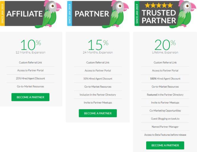 tawk.to partnership program
