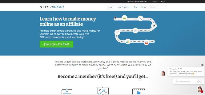 best affiliate marketing training - affilorama