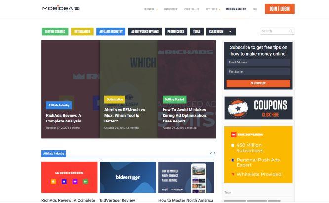 best affiliate marketing training - mobidea academy